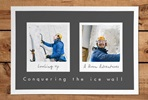 Personalised Remember The Days Two Image Print