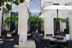 Secret Garden al Fresco Dining with Sharing Menu and Champagne for Two at Inamo, Camden