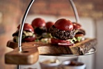 Sliders and Scones Tipsy Tea with Free Flowing Gin for Two at Burger & Bubbles