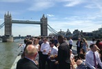 Sunday Brunch Thames Cruise with Sparkling Wine for Two