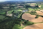 Surrey Countryside and London Skyline Helicopter Sightseeing Tour for Two