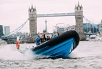 Thames Jet Boat Rush and Three Course Meal for Two at Marco Pierre White's London Steakhouse Co