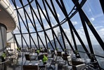 The View from The Shard and Four Course Sunday Brunch with Champagne at the Gherkin for Two