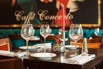 Three Course Meal for Two at Caffé Concerto, London