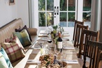 Three Course Meal with Wine for Two at White Brasserie Gastro Pubs