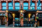 Three Course Sunday Lunch and Bottle of Wine for Two at the Village Brasserie by Velvet, Manchester