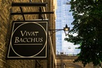 Two Course Dinner and Wine Flight for Two at London's Vivat Bacchus