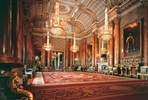 Visit to Buckingham Palace State Rooms, Royal Mews and Three Course Lunch with Champagne at Gordon Ramsay's Savoy Grill for Two
