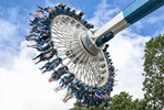 Visit to Drayton Manor Theme Park with Lunch for Two Adults